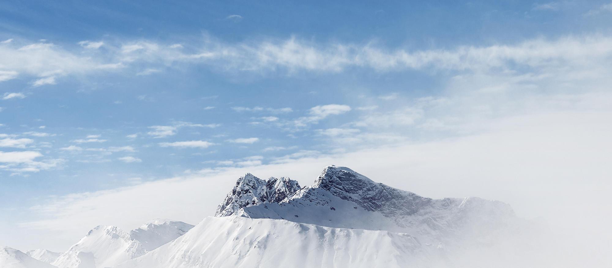 Auf 3.509 Höhenmetern entspring unser Alpenmineralwasser